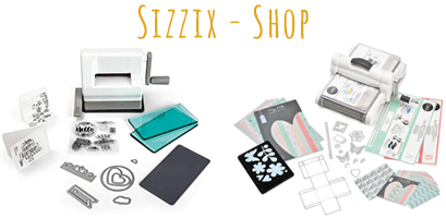 Sizzix, Big Shot, Big Sho Plus, Ellison, Stanzmaschine, Praegemaschine. Wo kauft ihr eure Sizzix-Artikel? glass-hobby-design.de, bester Bastelshop, bester Bastelversand