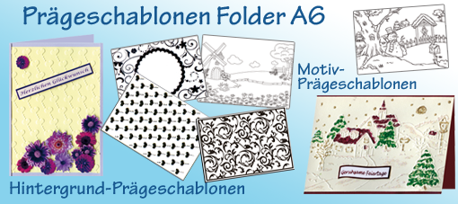 Prägeschablonen/Folder - Glass Hobby Design