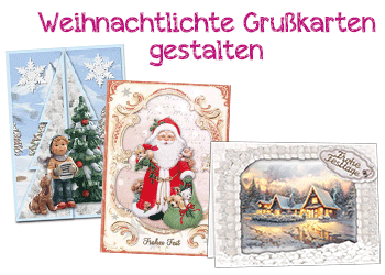 Winter-Weihnachts- Dekorationen
